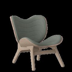 A Conversation Piece Armchair - Oak - Spring Green