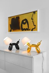 Doggy Table Lamp Black