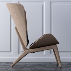 The Reader Armchair - Dark Oak Base Only