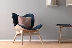 A Conversation Piece Armchair - Dark Oak Base Only