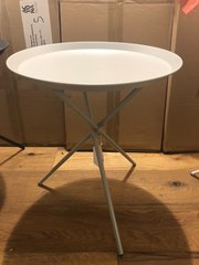 Tripod Grey Lamp Table