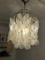 Verner Panton Fun Mother of Pearl Ceiling Light
