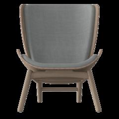 The Reader Armchair - Oak - Silver Grey