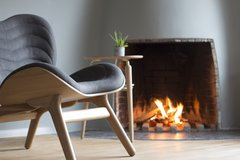 A Conversation Piece Armchair - Oak Base Only