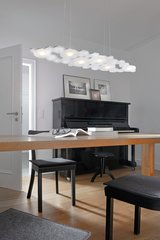 Cloud Pendant Lamp Aluminium