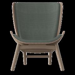 The Reader Armchair - Dark Oak - Spring Green