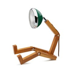 Mr. Wattson LED Table Lamp Chiltern Green