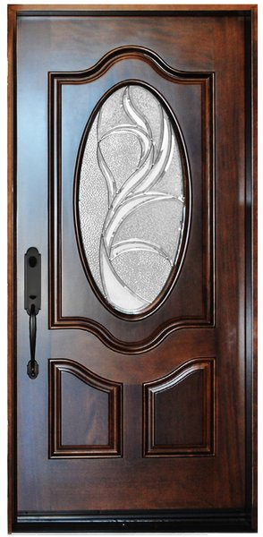 Finished wood door #M800G-Single-80