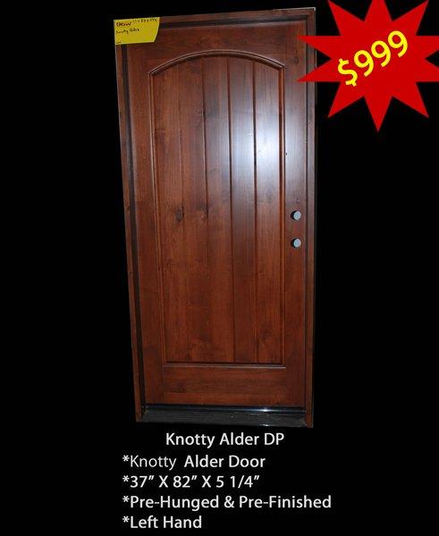 Clearance Door #DP-Single