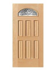Exterior Entry Wood Slab Door No Paint #M285