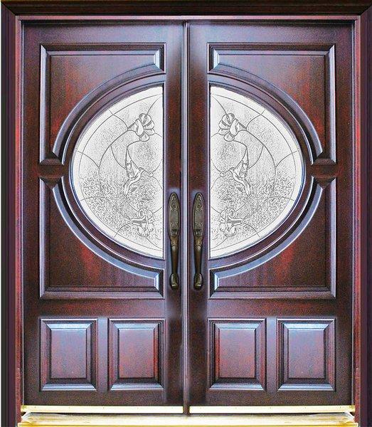 """Exterior Entry Door #M580A -73 1/4"""" x 81"""""""