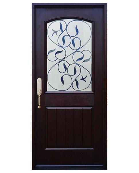 Fibgerglass Door #FM200I-SGL