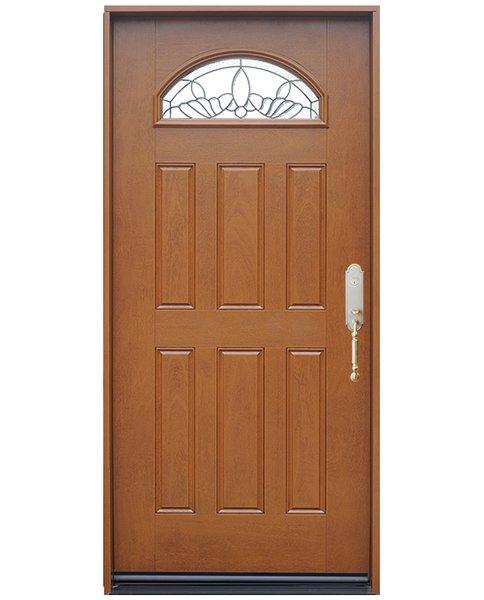 Fiberglass Door #FM285-SGL