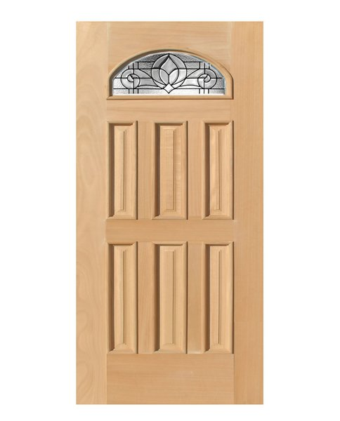 Exterior Entry Wood Slab Door No Paint #M285
