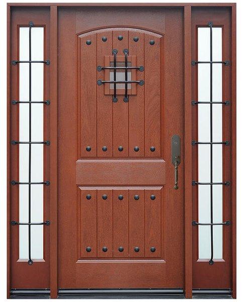 Fiberglass Door #FM200SP-1D2S
