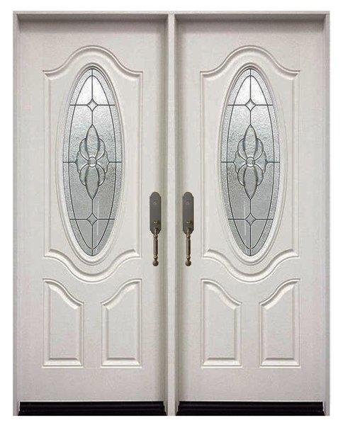 Fiberglass Door #FM800-DBL