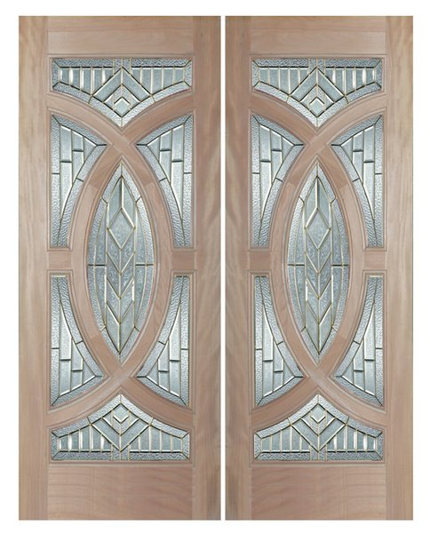 Exterior Entry Wood Slab Door #M705