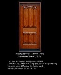 Clearance Door #CRL FM200PP