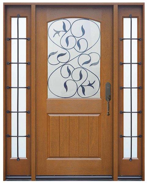 Fiberglass Door #FM200I-1d2s