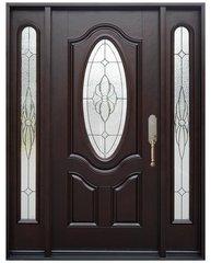 Fiberglass Door #FM800A-1D2S