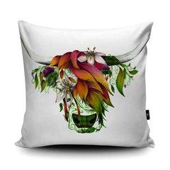 Ivy soft vegan faux suede cushion by British Artist