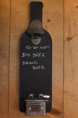 Brew dog blackboard bottle opener