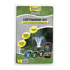 Tetra Pond LED Fountain Head Set with Color Changing LED 19764