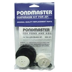 Replacement Parts for Pondmaster Air Pumps, Manifolds, Diaphragm Kits.