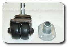 Replacement Rubber Heavy Duty Uprught Casters