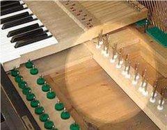 Grand Piano Key Bed Rebuilding