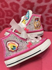 """SHOPKINS"" Bling Converse All Stars Sneakers"