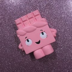 Pink Chocolate Bar Squishy