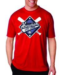 Horsham Red Performance Shirt