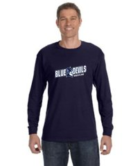 SCH long Sleeve Navy Tee
