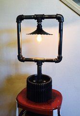 Boxed Up Table Lamp