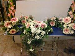 Altar flower arrangement