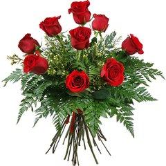 Nine roses