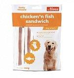 CHICKEN'N FISH SANDWICH 100-002