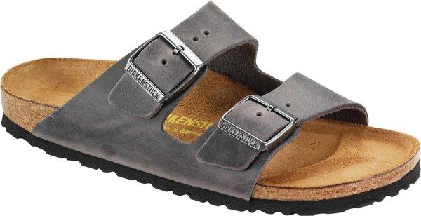 Birkenstock Arizona Iron Oiled Leather