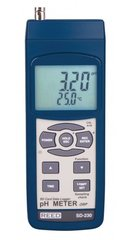REED SD-230 SD Series pH/ORP Datalogger, 0.00 to 14.00 pH / 0-1999 mV