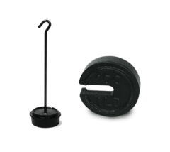 Rice Lake ASTM Class 7 Cast Iron Calibration Weights - Counterpoise and Hanger Weights