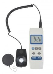 REED R8120 Lux Light Meter with Detachable Sensor, 20,000 Lux