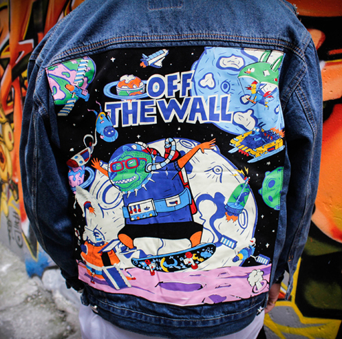 Space Ghost Custom Denim Jean Jackets
