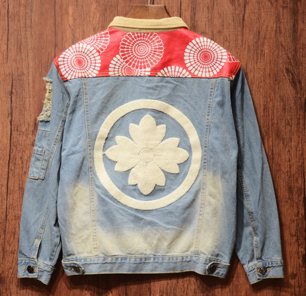 Hipster Custom Denim Jean Jackets