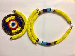 Safari Beaded Necklace
