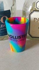 HP tie dye Silipint unbreakable shot glass