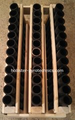 36 Consumer tube fan rack, w/HDPE tubes.