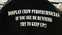 Hollister Pyro Crew BLK T-Shirt