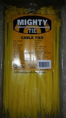 "7"" Cable Tie Colored 50lb Rated 100 Pack"