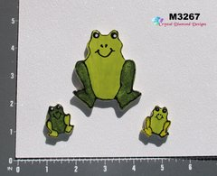 3 Frogs Handmade Mosaic Ceramic Tiles For your Projects M3267